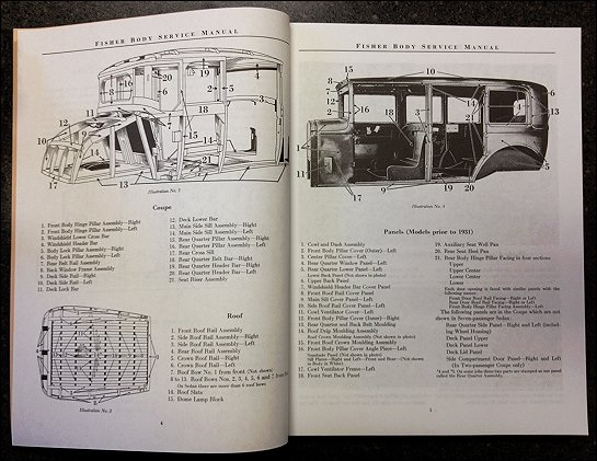 fisher body service manual 1926 1932 gm closed body cars rh themotorbookstore com 1968 fisher body service manual fisher body service manual 1937