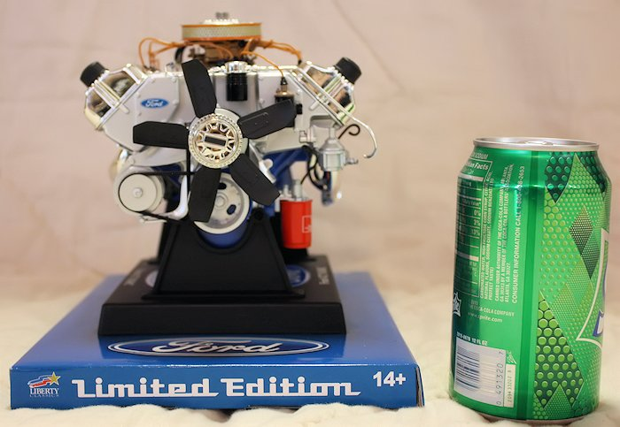 Ford 427 SOHC Engine Die-Cast - Front View