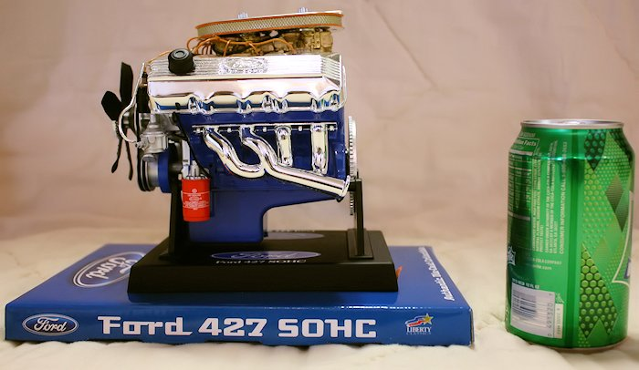 Ford 427 SOHC Engine Die-Cast - Side View