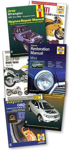 Haynes Repair Manuals for Cars, Trucks, Motorcycles and ATVs