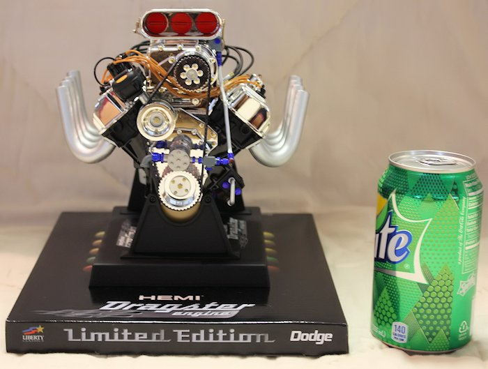 Hemi Dragster Engine Die-Cast - Front View