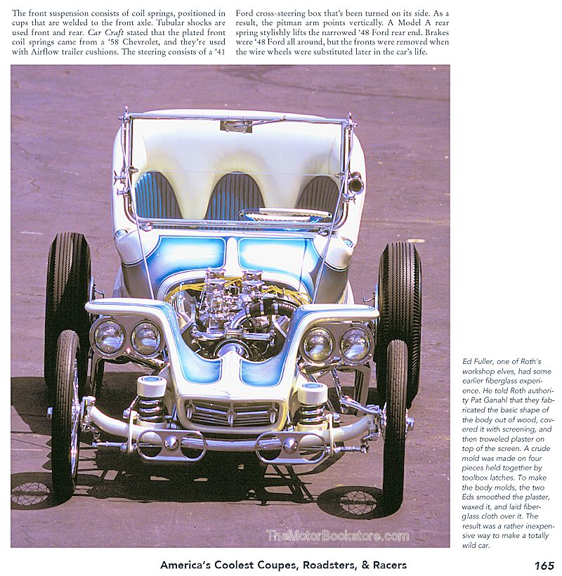 Ed Roth's Outlaw T Hot Rod Sample Page - Hot Rod Milestones - Sample Page – CT553