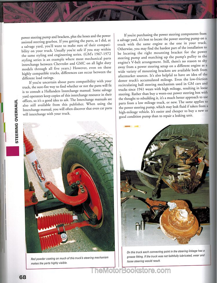 How To Restore Your Chevrolet Truck - Sample Page - MB16341