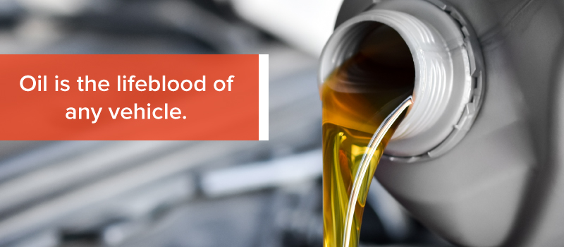 importance of oil to engines