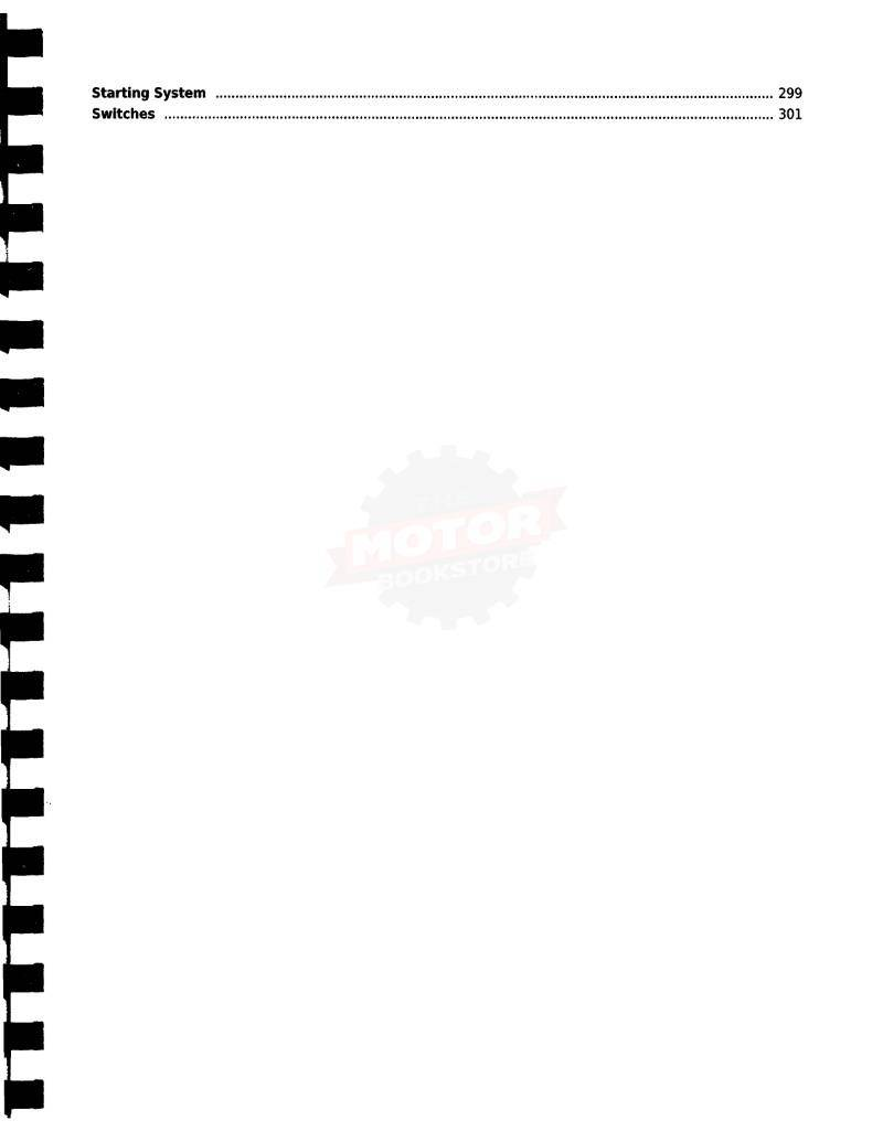 KYMCO Like 50 Service Manual 2010-2014 - Table of Contents 3