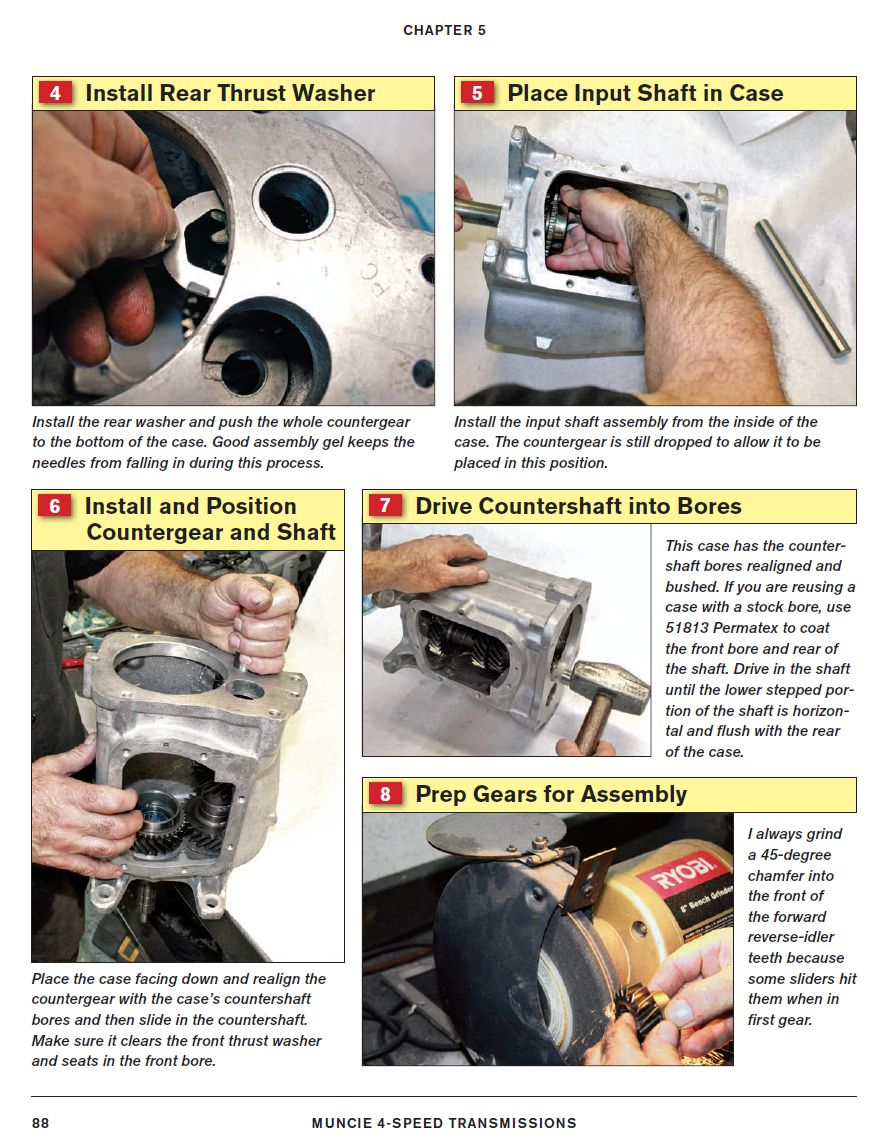 Muncie 4-Speed Transmissions: How to Rebuild and Modify Sample Page - Rebuilding Your Muncie - SA278