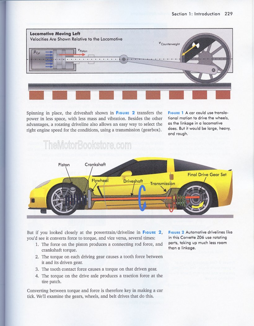 Physics for Gearheads Sample Page