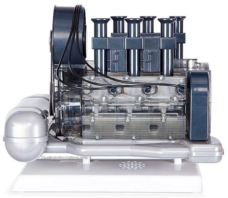 Porsche 911 Boxer Engine Model Side View