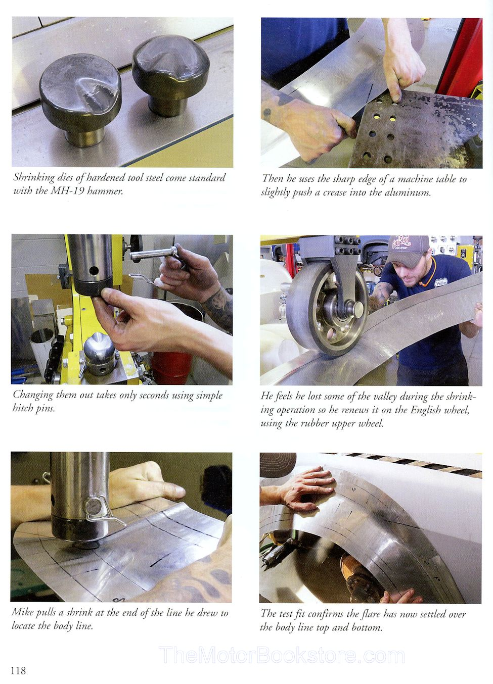 Power Hammers Sheet Metal Fabrication Sample Page - WP360