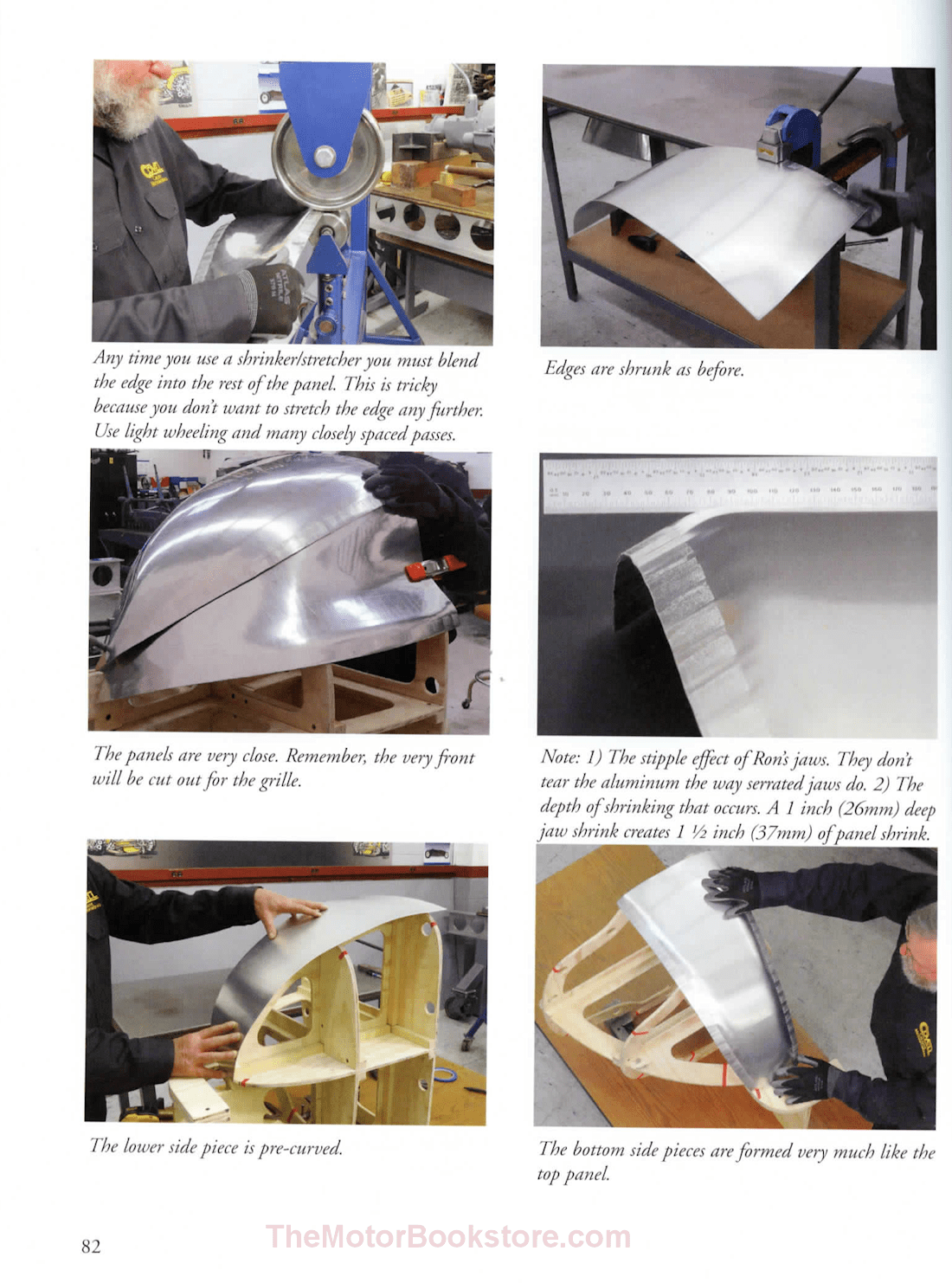 Sheet Metal Fab for Car Builders - Sample Page - WP338