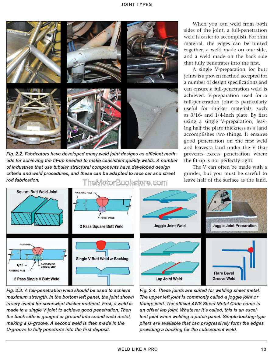 Weld Like a Pro - Joint Types Sample Page - SA343