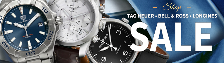 Flash Sale: Breitling, Cartier & Tudor Watches