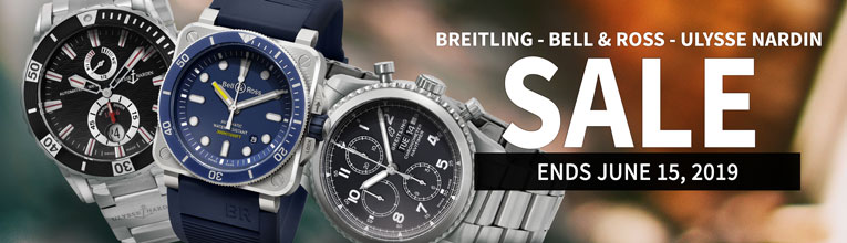 Flash Sale: Breitling, Bell & Ross & Ulysse Nardin  Watches
