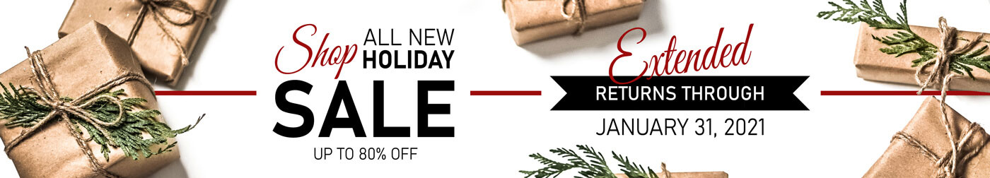 Shop All New Holiday Sale!