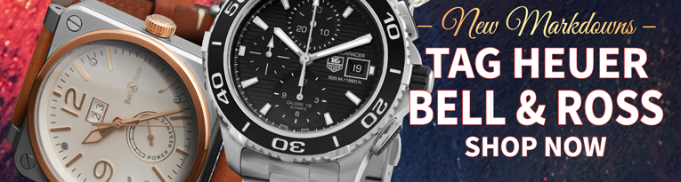 Flash Sale: Tag Heuer & Bell & Ross Watches