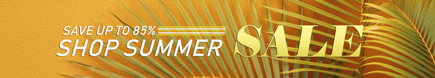 Shop Summer Sale + Save up to 85%
