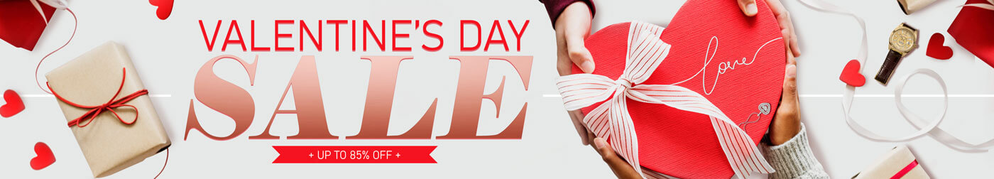 Shop All New Valentine's Day Sale!