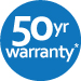 50 Year warranty on the writing surface.