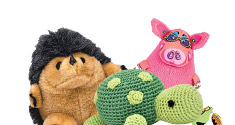 Plush & Stuffing-Free toys for Dogs
