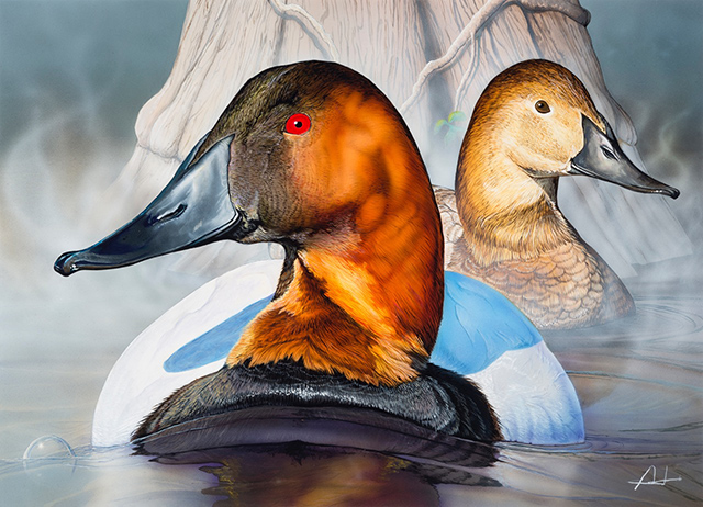 2018 NC Wildlife Duck Stamp