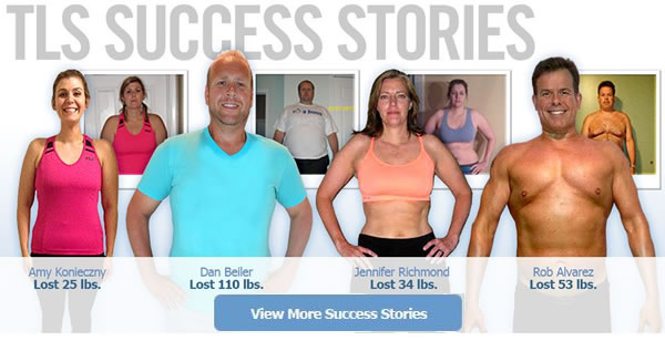 TLS Weight Loss Stories