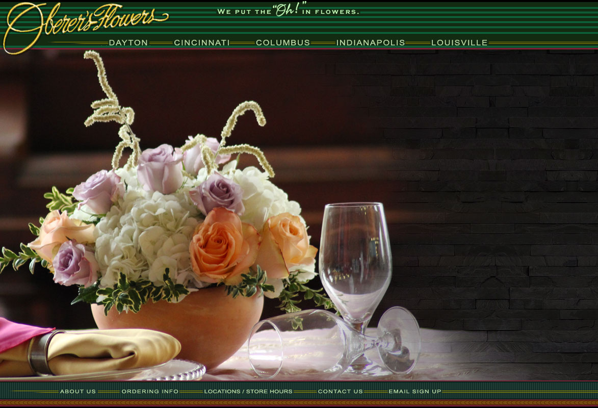 Oberers flowers indianapolis florists oberers flowers the indianapolis florist with gorgeous flowers and plants our artistry and dedication to our craft izmirmasajfo