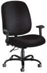 Black Big and Tall Chair
