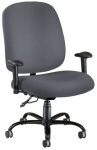 Gray Big and Tall Chair