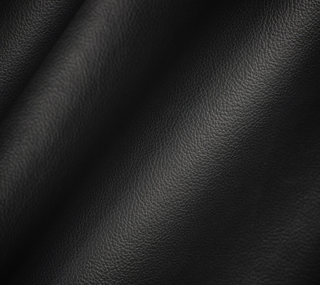 Black leather chair texture - Era Black Leather