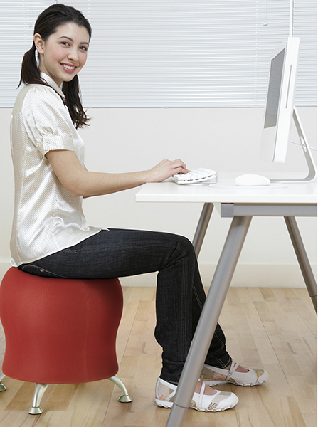 Astounding The Zenergy Swivel Ball Chair From Safco A New Spin On Unemploymentrelief Wooden Chair Designs For Living Room Unemploymentrelieforg