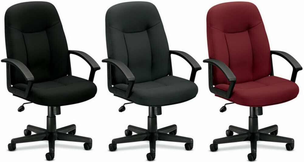 High Back Fabric Upholstered Home Office Chair [VL601]