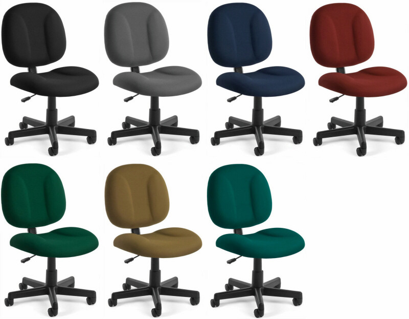 ofm intensive use office task chair with wide seat [105] - free