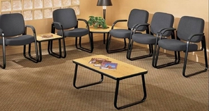 OFM Fabric Waiting Room Chair with Optional Ganging Brackets [403]