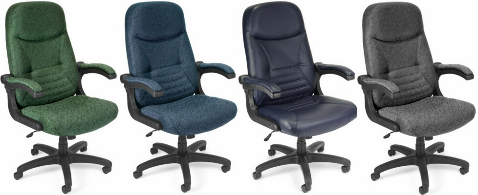 Executive Office Chair With Pivot Arms By Ofm 550 Free