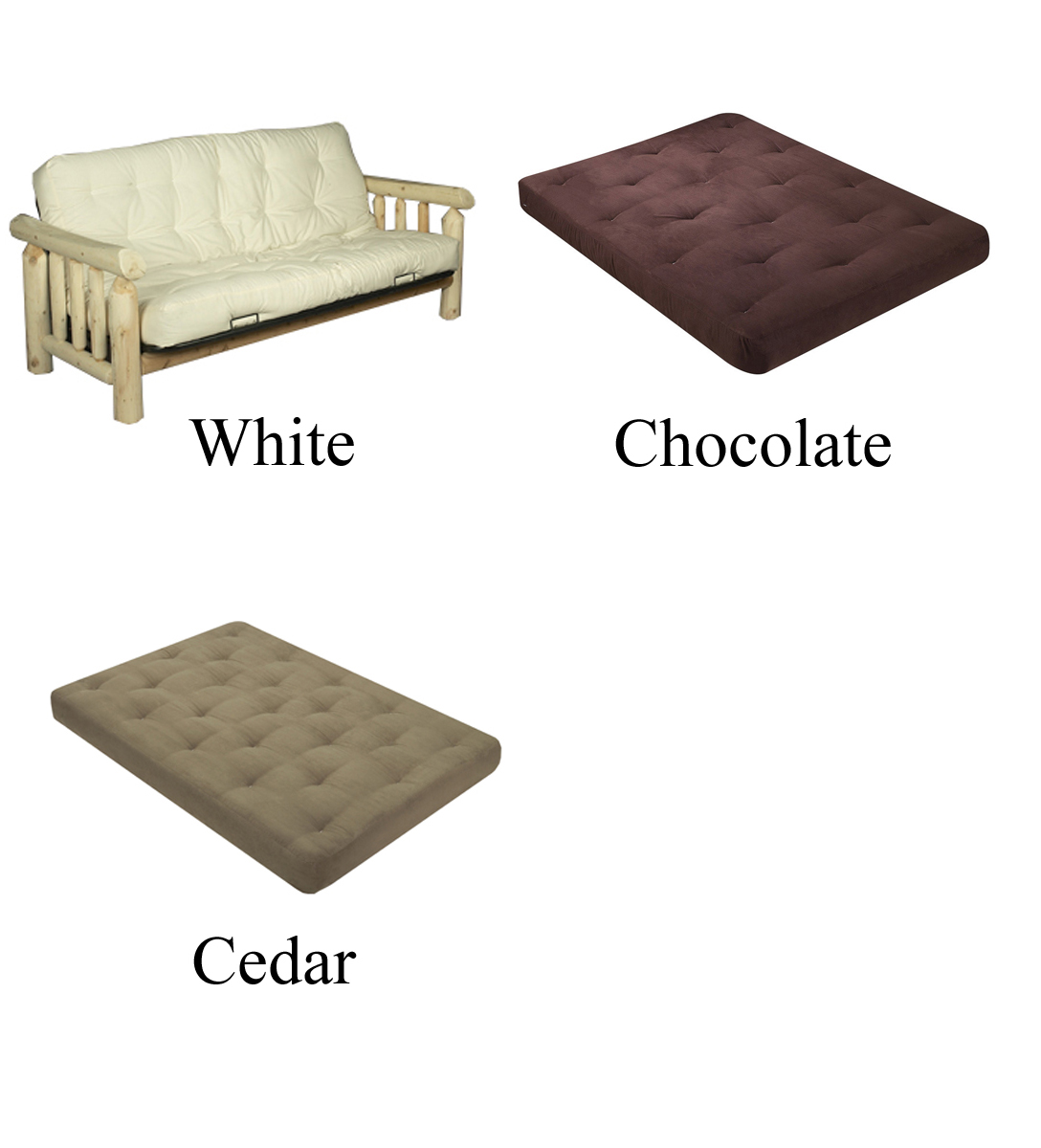 Medium image of     see mattress color options