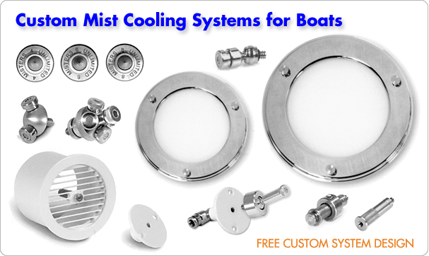 Custom Boat Misting Systems