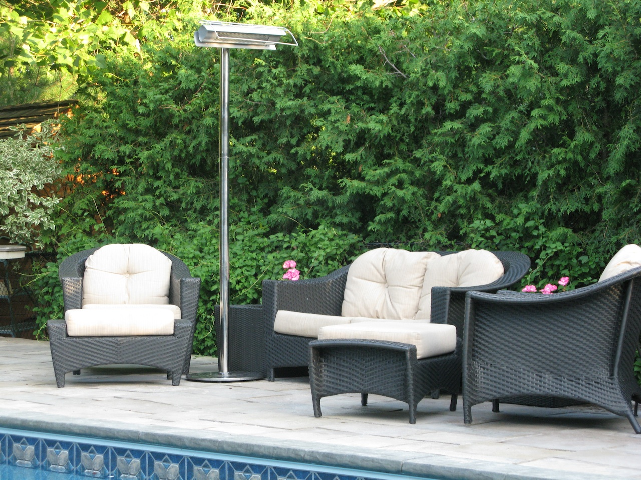 Radiant Heating Outdoor Patio Images