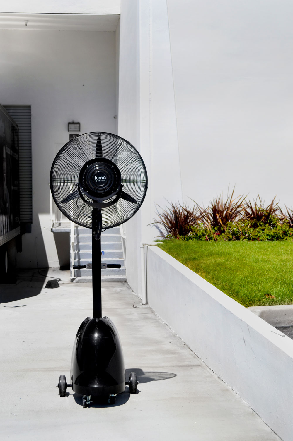 Buy Portable Outdoor Misting Fans At Patio Comforts