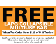 5.11 Tactical Active Shooter Bailout Bag 56026