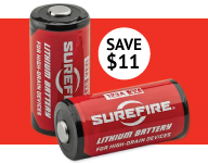 SureFire CR123 Battery Special 12 Pack