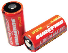SF 123A Lithium Batteries