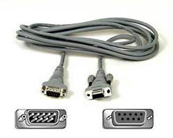 9 pin to 9 pin Serial Connection