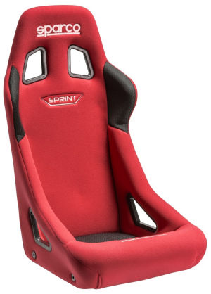 Sparco Sprint Racing Seat Red Cloth 008235RS