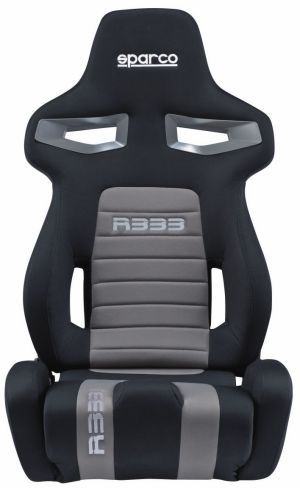Sparco R333 Racing Seat Black/Gray 00965NRGR