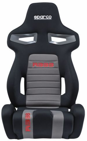 Sparco R333 Racing Seat Black/Gray/Red 00965NRGRS
