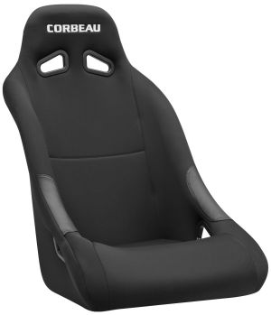 Corbeau Clubman Racing Seat Black Cloth 20221