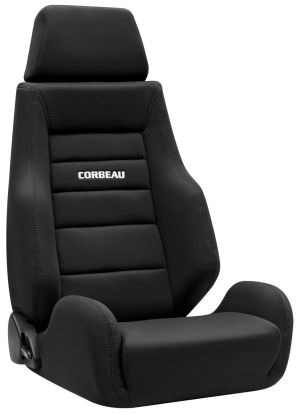 Corbeau GTS II Racing Seat Black Cloth 20301