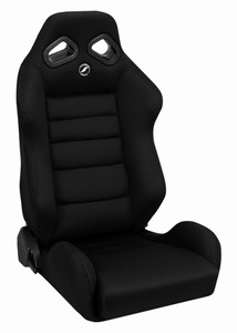 Corbeau TRS Racing Seat Black Cloth 20801