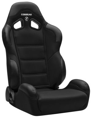 Corbeau CR1 Racing Seat Black Cloth 20901