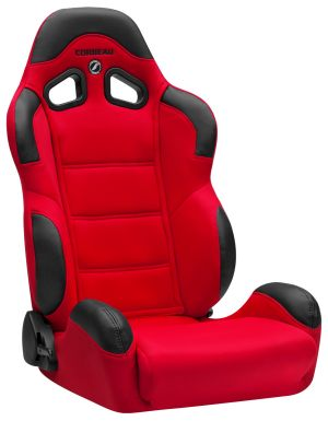 Corbeau CR1 Racing Seat Red Cloth 20907